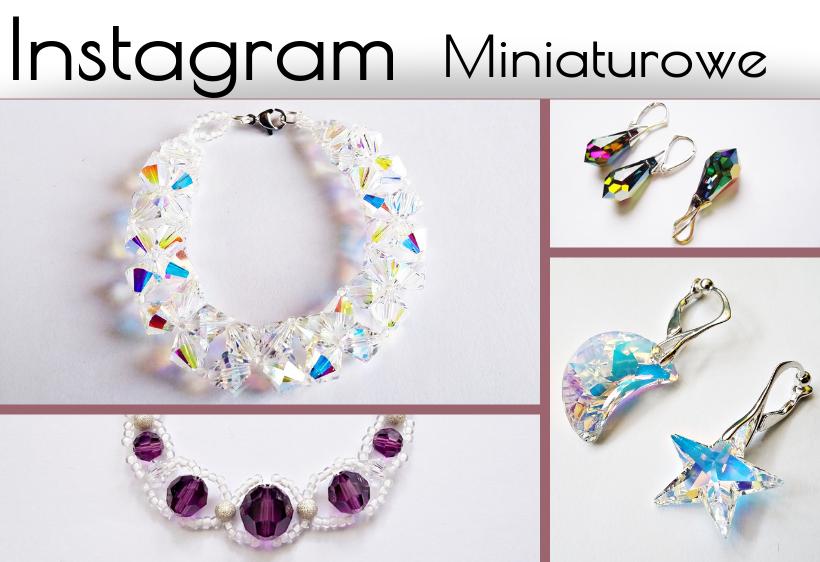 Instagram biżuteria Miniaturowe